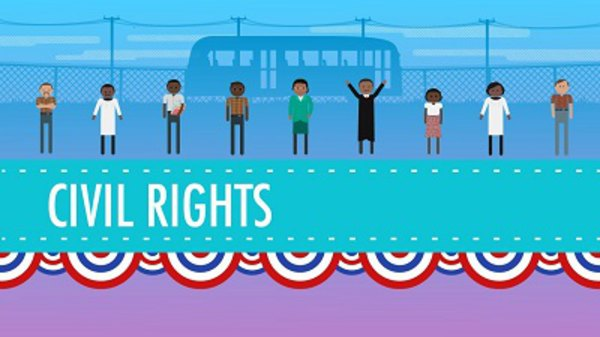 Crash Course US History - S01E39 - Civil Rights and the 1950s
