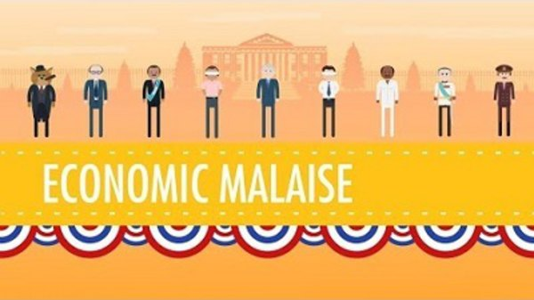 Crash Course US History - S01E42 - Ford, Carter, and the Economic Malaise