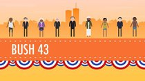Crash Course US History - Episode 46 - Terrorism, War, and Bush 43