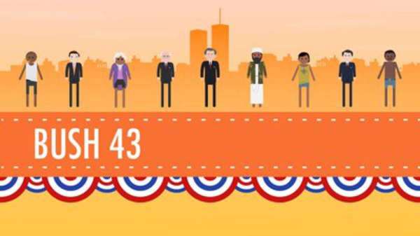Crash Course US History - S01E46 - Terrorism, War, and Bush 43