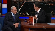 The Late Show with Stephen Colbert - Episode 5 - Bob Woodward, The Knocks, Foster the People
