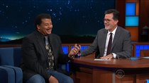 The Late Show with Stephen Colbert - Episode 6 - Neil deGrasse Tyson, Michael Rapaport