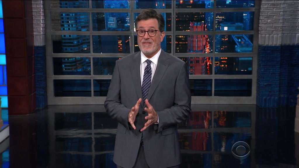 Screenshot of The Late Show with Stephen Colbert Season 4 Episode 2 (S04E02)