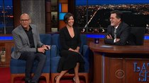The Late Show with Stephen Colbert - Episode 8 - John Heilemann, Alex Wagner, Judy Greer, First Aid Kit