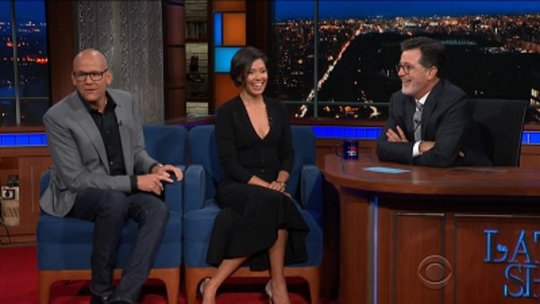 The Late Show with Stephen Colbert - S04E08 - John Heilemann, Alex Wagner, Judy Greer, First Aid Kit