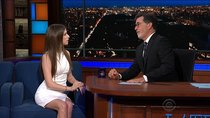 The Late Show with Stephen Colbert - Episode 9 - Anna Kendrick, Anne-Marie