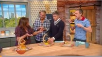 Rachael Ray - Episode 8 - Neil Patrick Harris and David Burtka Try Donut Grilled Cheese...