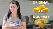 Gourmet Makes - Episode 1 - Pastry Chef Attempts to Make a Gourmet Twinkie