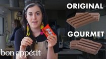 Gourmet Makes - Episode 4 - Pastry Chef Attempts to Make Gourmet Kit Kats