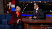The Late Show with Stephen Colbert - Episode 13 - Hillary Rodham Clinton, Nik Dodani