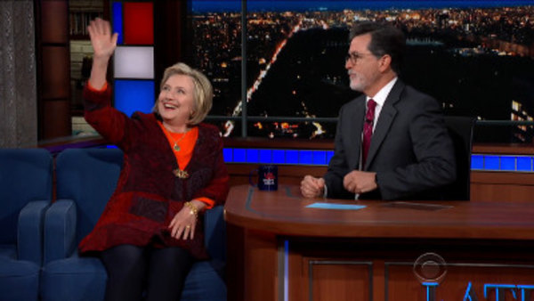 The Late Show with Stephen Colbert - S04E13 - Hillary Rodham Clinton, Nik Dodani
