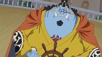 One Piece - Episode 853 - The Green Room! An Invincible Helmsman, Jimbei!