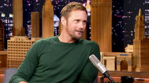 The Tonight Show Starring Jimmy Fallon - Episode 3 - Alexander Skarsgård, Justin Hartley, Bad Bunny