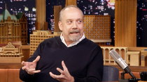 The Tonight Show Starring Jimmy Fallon - Episode 5 - Paul Giamatti, Common, Shin Lim