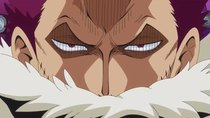 One Piece - Episode 855 - The End of the Deadly Battle?! Katakuri's Awakening in Anger!