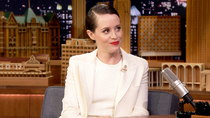 The Tonight Show Starring Jimmy Fallon - Episode 7 - Claire Foy, Chelsea Clinton, Lil Wayne