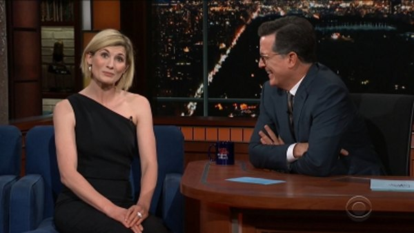 The Late Show with Stephen Colbert - S04E21 - Nick Kroll, Jodie Whittaker, Cat Power
