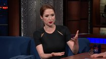 The Late Show with Stephen Colbert - Episode 23 - Ellie Kemper, Sam Elliott