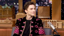 The Tonight Show Starring Jimmy Fallon - Episode 13 - Timothée Chalamet, Amandla Stenberg, Guy Raz, Ella Mai