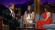 The Late Late Show with James Corden - Episode 21 - Keira Knightley, Kathryn Hahn, Joe Zimmerman