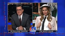 The Late Show with Stephen Colbert - Episode 25 - Lin-Manuel Miranda, Brooke Baldwin, Laura Benanti