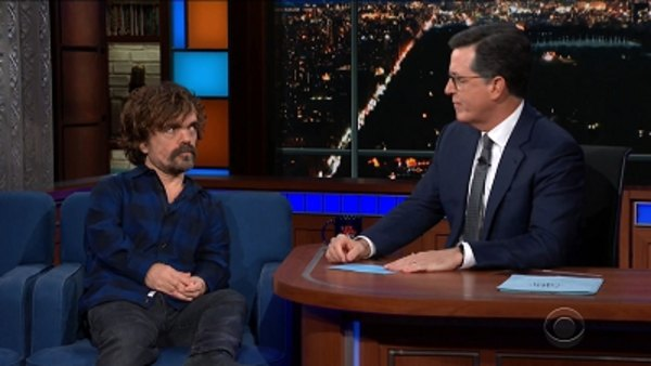 The Late Show with Stephen Colbert - S04E26 - Peter Dinklage, Busy Philipps, Noname
