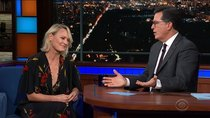 The Late Show with Stephen Colbert - Episode 28 - Robin Wright, Caitlin Peluffo, Hillary Rodham Clinton, Melissa...