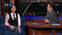 The Late Show with Stephen Colbert - Episode 29 - Sarah Silverman, Scott Bakula, Transviolet