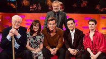 The Graham Norton Show - Episode 4 - Michael Caine, Chris Pine, Rami Malek, Sally Field, Christine...
