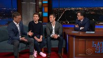 The Late Show with Stephen Colbert - Episode 30 - Jon Favreau, Jon Lovett, Tommy Vietor, Charlamagne Tha God