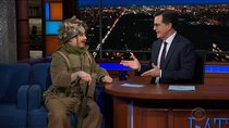 The Late Show with Stephen Colbert - Episode 36 - Mike Myers, Christiane Amanpour