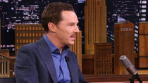 The Tonight Show Starring Jimmy Fallon - Episode 25 - Benedict Cumberbatch, Minka Kelly, Orlando Leyba