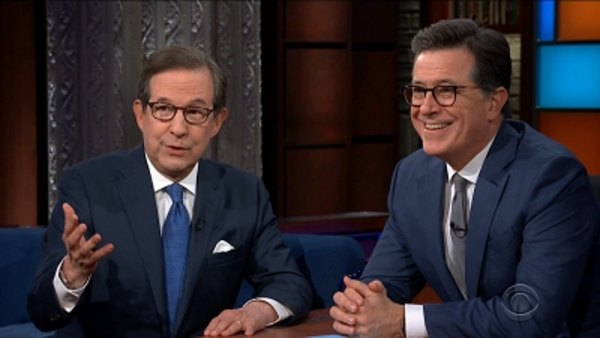The Late Show with Stephen Colbert - S04E37 - Chris Wallace, Cole Sprouse, Tony Bennett