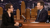 The Tonight Show Starring Jimmy Fallon - Episode 26 - Rachel Maddow, Sam Heughan, Carly Rae Jepsen