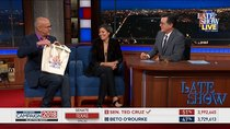 The Late Show with Stephen Colbert - Episode 40 - John Heilemann, Alex Wagner, Hasan Minhaj