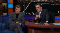 The Late Show with Stephen Colbert - Episode 41 - Chris Pine, Major Garrett