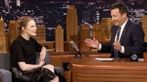 The Tonight Show Starring Jimmy Fallon - Episode 28 - Emma Stone, Bridget Everett, Finesse Mitchell