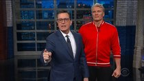 The Late Show with Stephen Colbert - Episode 45 - Rachel Weisz, Jason Mantzoukas, Demetri Martin, Dolph Lundgren