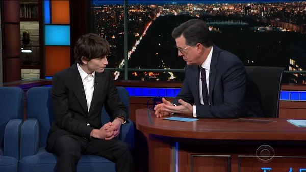The Late Show with Stephen Colbert - S04E48 - Timothée Chalamet, Sonia Sotomayor, Graham Kay