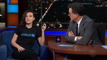 The Late Show with Stephen Colbert - Episode 49 - Millie Bobby Brown, Anthony Salvanto, Josh Groban