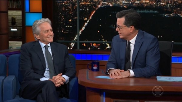 The Late Show with Stephen Colbert - S04E50 - Michael Douglas, Ben Sasse
