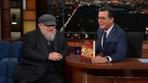 The Late Show with Stephen Colbert - Episode 51 - Connie Britton, George R.R. Martin, José Andrés