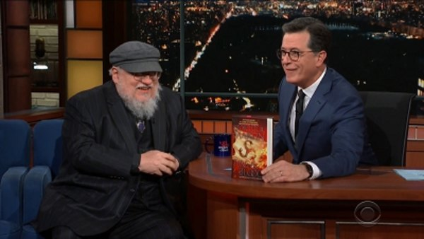 The Late Show with Stephen Colbert - S04E51 - Connie Britton, George R.R. Martin, José Andrés