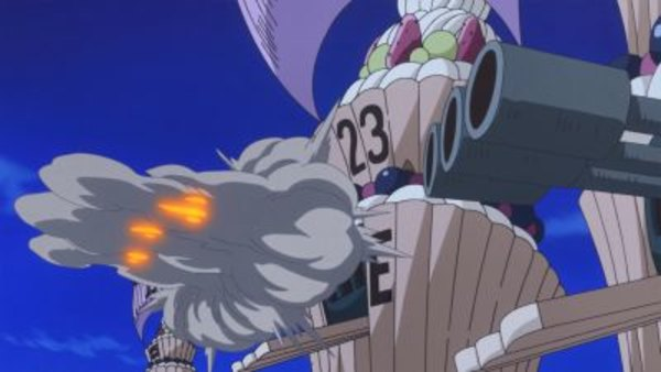 One Piece - Ep. 863 - Break Through! The Straw Hat's Mighty Sea Battle!