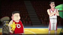 The Adventures of Kim Jong Un - Episode 5 - Kim Jong Un and Dennis Rodman Recreate Space Jam
