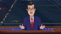 The Late Show with Stephen Colbert - Episode 52 - Cartoon Thanks-travaganza