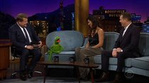 The Late Late Show with James Corden - Episode 43 - Kermit the Frog, Minka Kelly, Peter Krause, Sampha