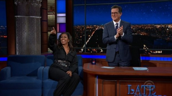 The Late Show with Stephen Colbert - S04E56 - Michelle Obama, Common