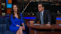 The Late Show with Stephen Colbert - Episode 57 - Catherine Zeta-Jones, Lucas Hedges, Nathaniel Rateliff & the...