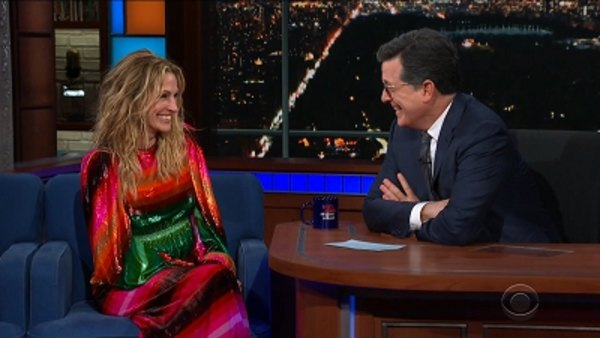 The Late Show with Stephen Colbert - S04E58 - Julia Roberts, Patrick Wilson